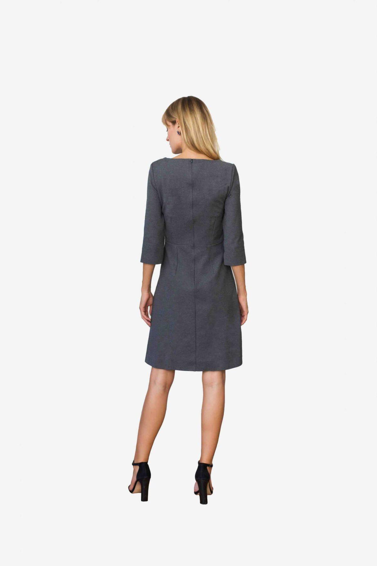 Kleid Alison von SANOGE. Hergestellt in Deutschland. Aus Stoff mit Stretch.