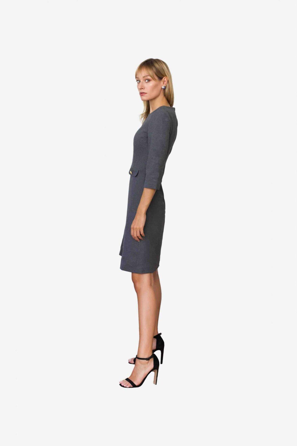 Designerkleid Alison von SANOGE. Musst Have für die exklusive Garderobe der Business Dame