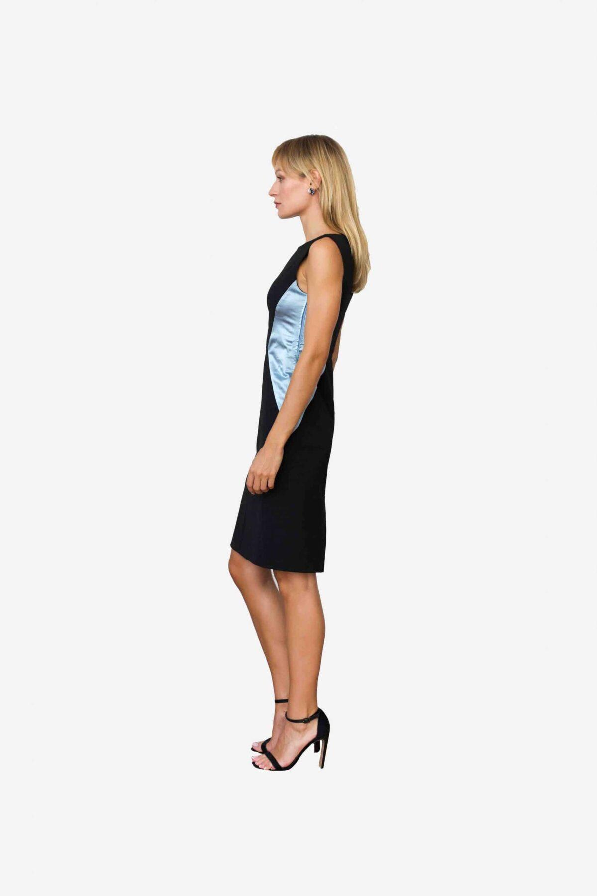 Kleid Xiaoping von SANOGE. Feine Damenmode. Das perfekte Outfit fürs Office