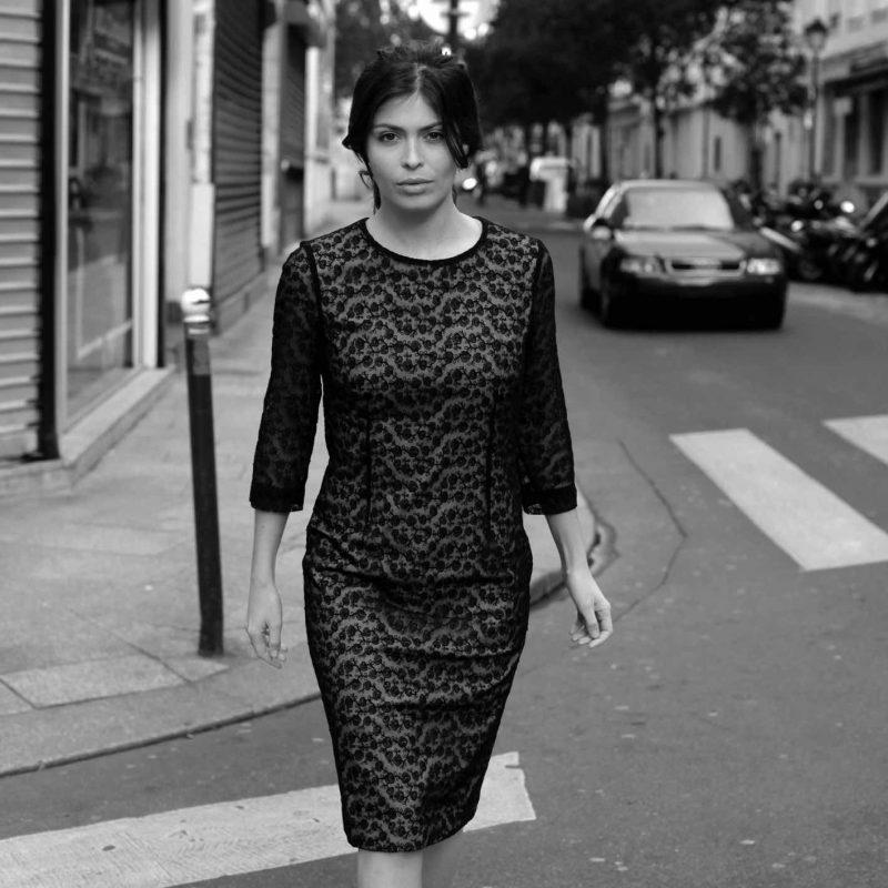 Exklusives Kleid aus Spitze by SANOGE