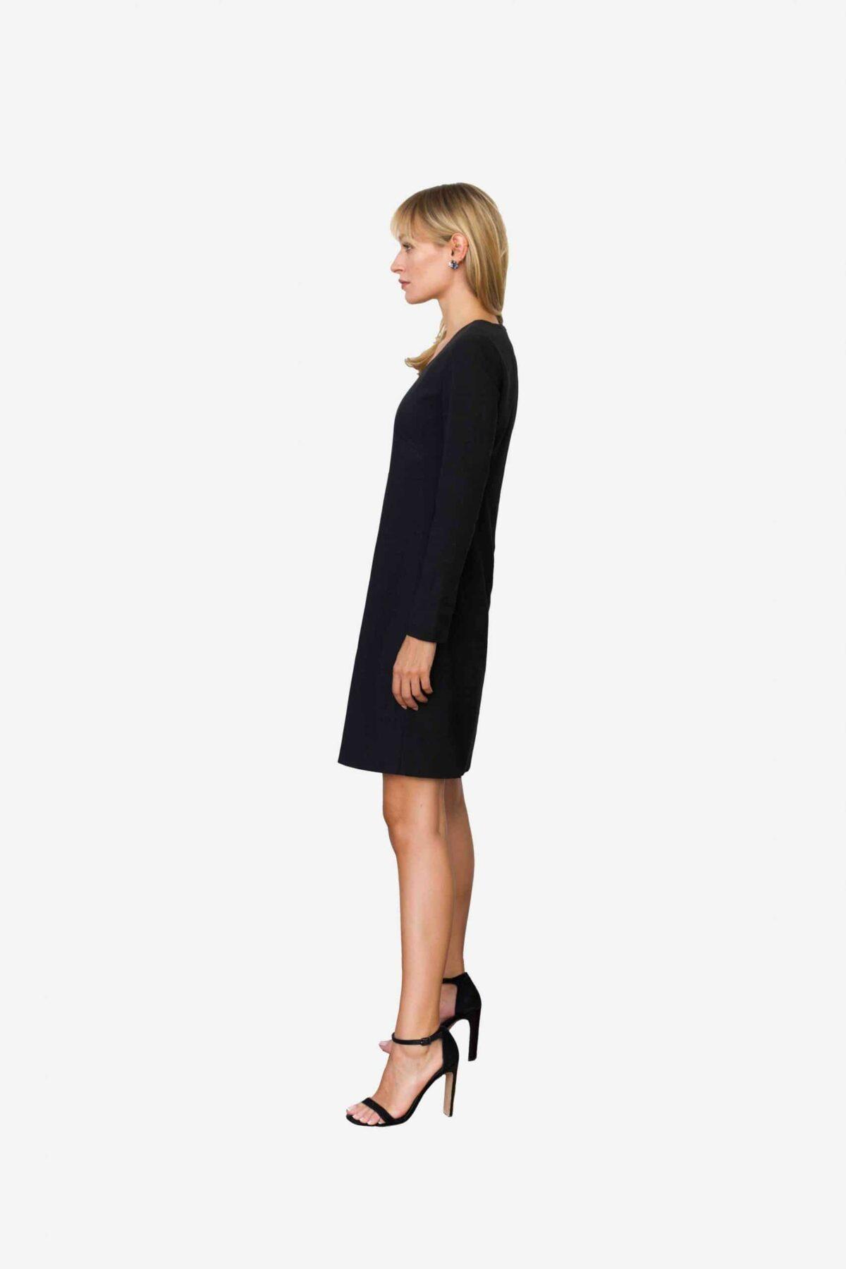 Designerkleid von SANOGE für das exklusive Business Outfit. Perfect Fit.