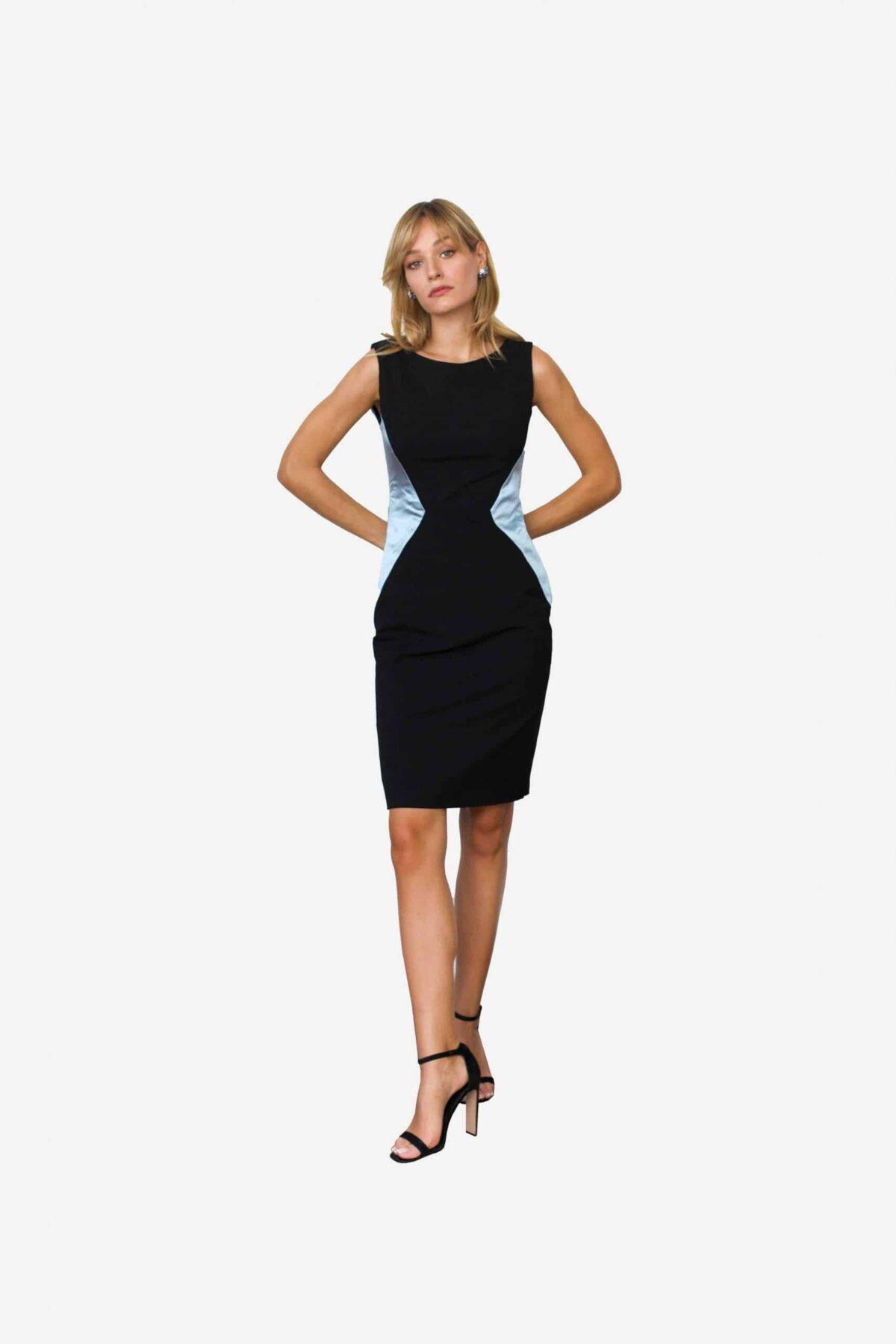 Kleid Xiaoping von SANOGE. Designermode Kleid made in Germany